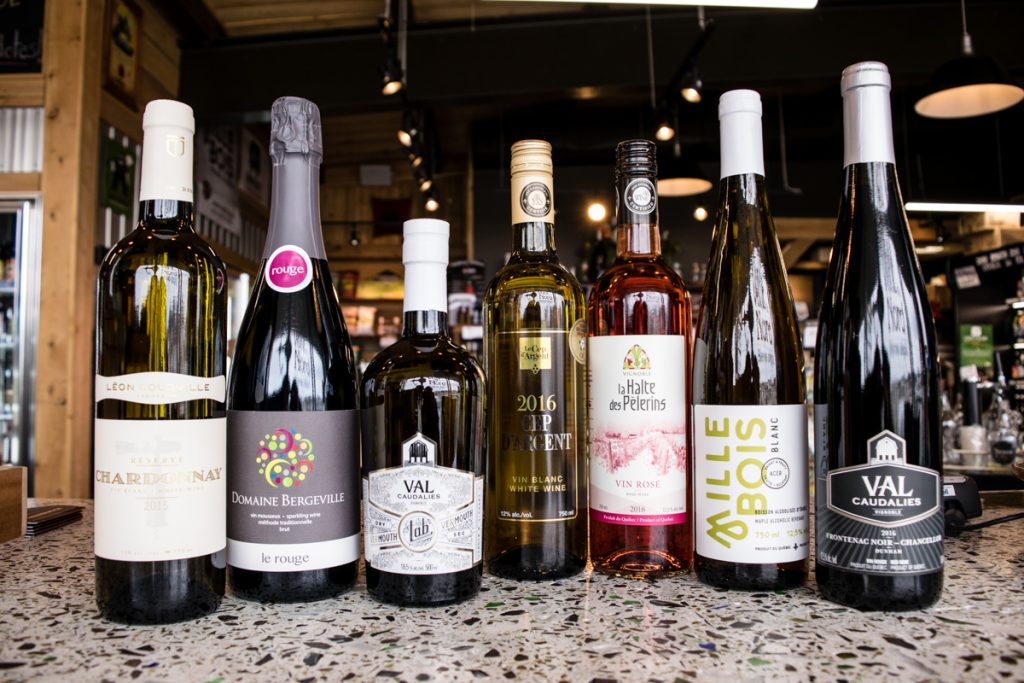 vins québécois